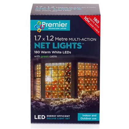 180 LED Warm White Indoor /Outdoor