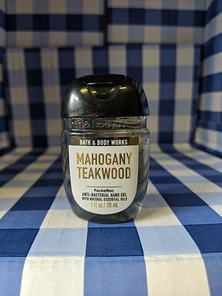 Mahogany teakwood Pocketbac Hand Sanitiser