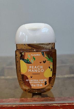 Peach & mango pocketbac hand sanitiser