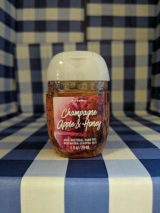 Champagne Apple & Honey Pocketbac Hand Sanitiser