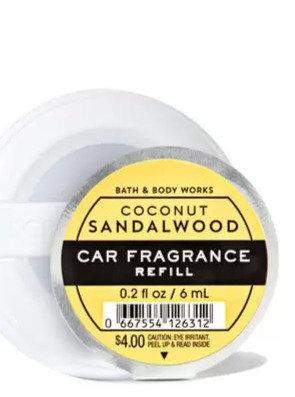 Coconut Sandalwood - Car Fragrance Refill