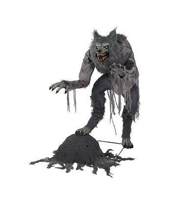 Lanky Werewolf Animated Figure