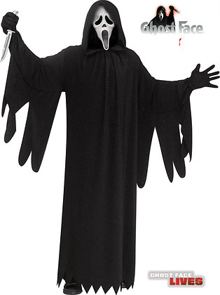Ghost Face® 25th Anniversary Movie Adult Costume