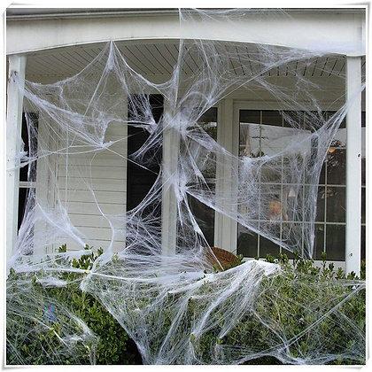 Super Stretch - White Spider Web