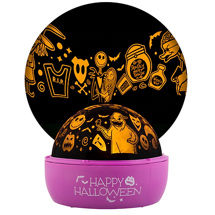 The Nightmare Before Christmas Orange Light Show Projector