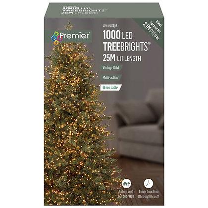 1000 TreeBrights Vintage Gold