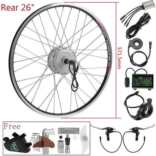 """36V 350W kit bicicleta elétrica E-bike roda 26"""""""