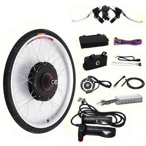 "48V 1000W 26"" E-Bike kit bicicleta eletrica"