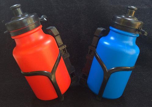350ml garrafa de plastico + suporte