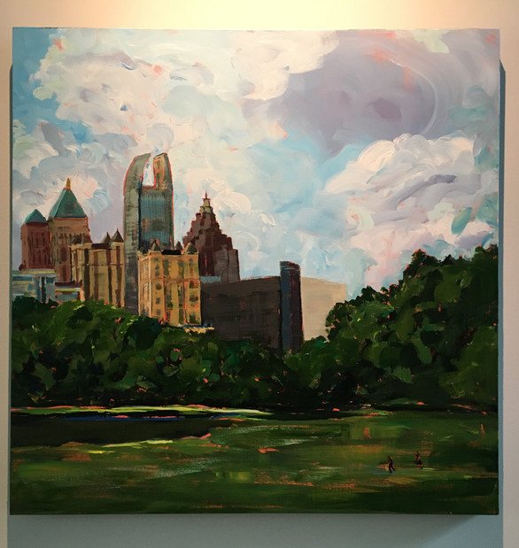 Early Afternoon: Piedmont Park