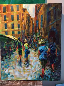 Strolling Rome