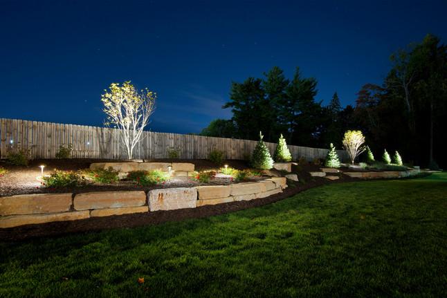 Plantings and Lighting