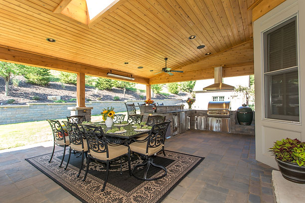 Gibsonia, Pennsylvania Landscaping, Patio, Outdoor Kitchen
