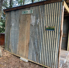 New Tool Shed @ The Pallet Cabin