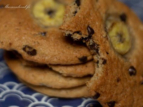 Cookies banane et cacahuète
