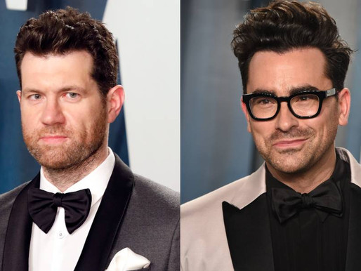 Billy Eichner proposes to Schitt's Creek star Dan Levy 'just to make the Pope angry'