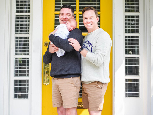 Ryan and Daniel. Our adoption story.