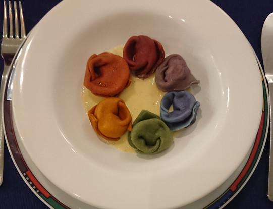 Rainbow Tortelloni