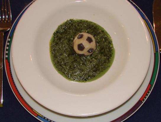Creative - Soccer ball ravioli - This is