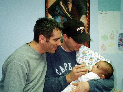 Gay couple become dads after finding newborn baby abandoned on the subway