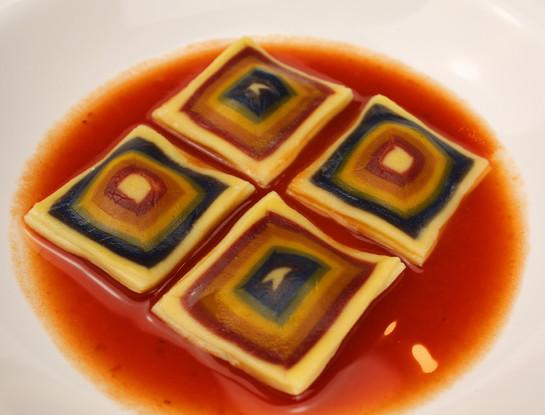 Creative - Square ravioli