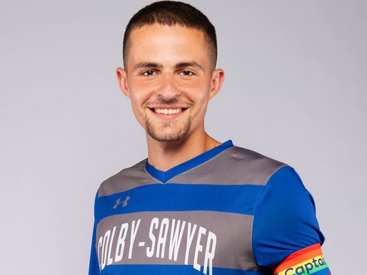 Wearing a Pride shirt inspired gay college soccer captain to come out