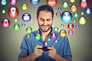 communication technology mobile phone hi