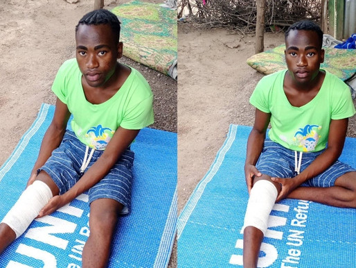 Gay refugee 'ambushed' by homophobe and left with broken leg: 'I feel like the world has rejected me