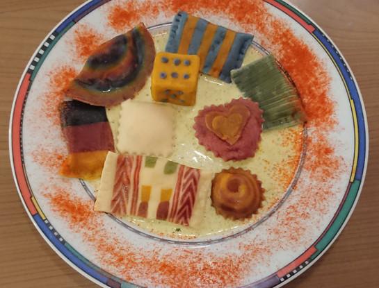 Creative - Mixed pasta dish