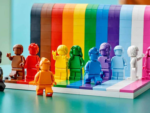 Lego launches first-ever LGBT+ set to show that 'everyone is awesome'