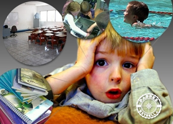 psicología infantil. padres e hijos. niños. estrés infantil. cambios. padres estrella.