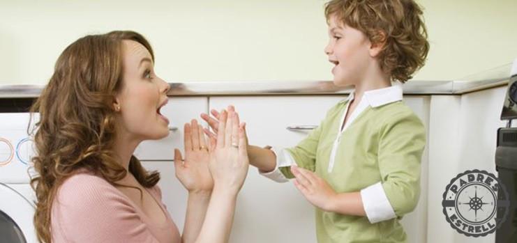 lenguaje. límites. padres e hijos. padres estrella.