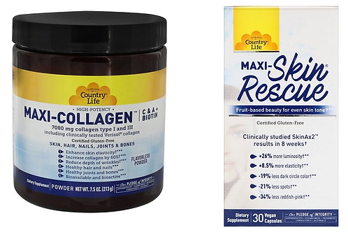 *Sale* MAxi-Collagen AND Maxi Skin Rescue