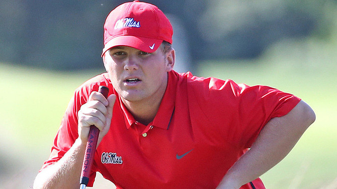 "Braden Thornberry, Ole Miss Sophomore, earns October's ""Amateur of the Month"""