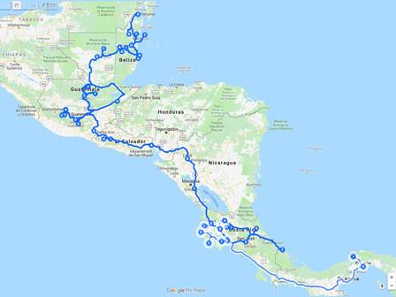 Fin de l'Amérique Centrale : 7 pays traversés