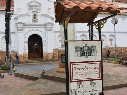 2 Capitales: Sucre et La Paz: 26 février et 1er Mars 2019