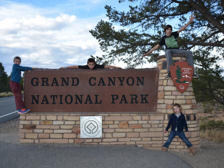 Grand Canyon : Jeudi 16 Nov et vend 17 nov 2017