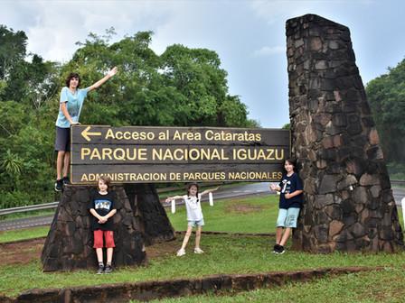 Les chutes d'Iguazu : 14 et 15 Janvier 2019