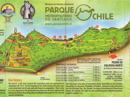 Parque Metropolitano + Quartier Bellavista + Sky Costanera :