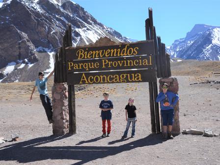 Parque Provincial Aconcagua et Puente del Inca: Mardi 4 Septembre 2018