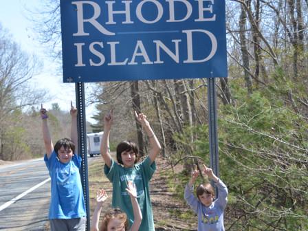 Rhôde Island- Connecticut-Vermont
