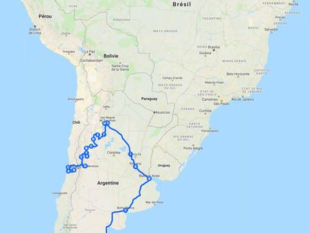 Remontée d'Ushuaia à Punta Arenas: du 10 au 14 nov 18