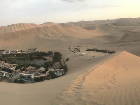 L'oasis d'Huacachina du 11 au 13 Mars 2019