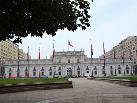 Santiago : Centre Historique : le 18 Août 2018