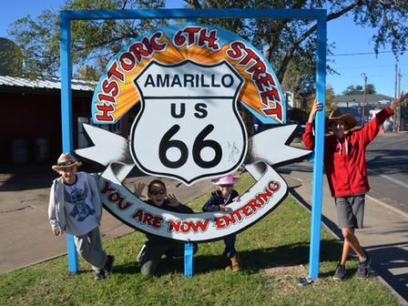 Route 66 vers Albuquerque : Dimanche 22 oct 17