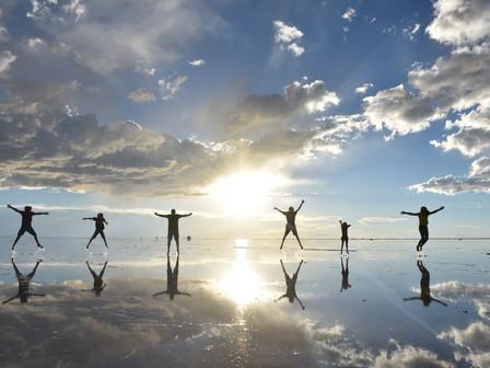 Le salar d'Uyuni : vendredi 22 et samedi 23 février 2019