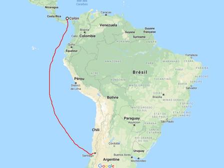 Dépôt du Camping-car pour une traversée en bateau : Vendredi 10 Août 2018