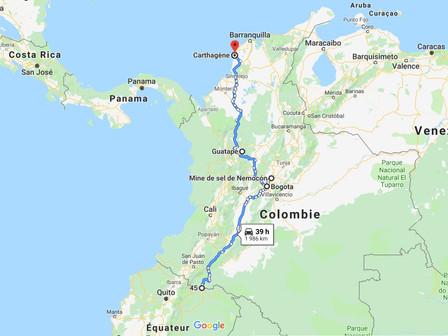 Bilan Colombie :