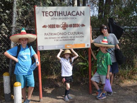 Pyramides de Teotihuancan : 21 Février 2018