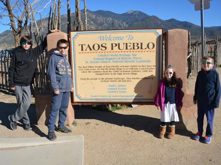 Pueblo de Taos : Lundi 11 Décembre 20017